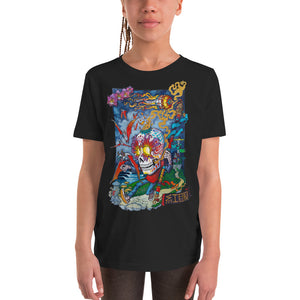 """Dreamy Mindful Path"" Youth Short Sleeve T-Shirt  - Redeye Laboratories"