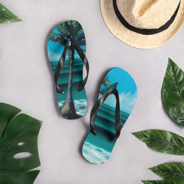 """One Palm"" Flip Flops  - Redeye Laboratories"