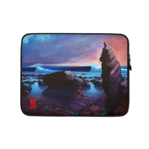 """Cormorant Rock"" Laptop Sleeve  - Redeye Laboratories"