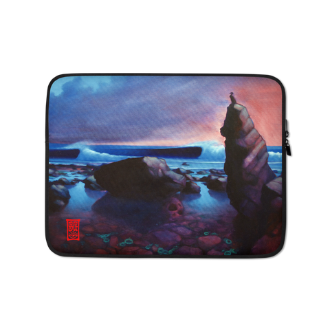 """Cormorant Rock"" Laptop Sleeve - 15 in"