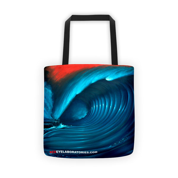 Red Sky Wave 1 Tote bag Tote bag - Redeye Laboratories
