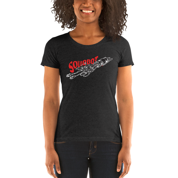 """Squidbot"" Ladies' short sleeve t-shirt  - Redeye Laboratories"