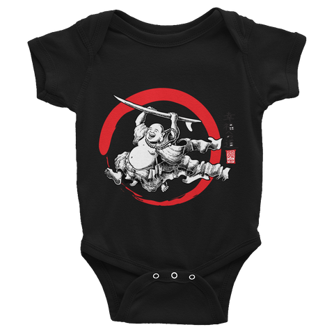 """Surfing Buddha"" Infant Bodysuit  - Redeye Laboratories"