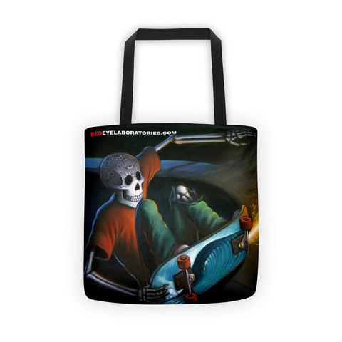Moon Grind 1 Tote bag Tote bag - Redeye Laboratories