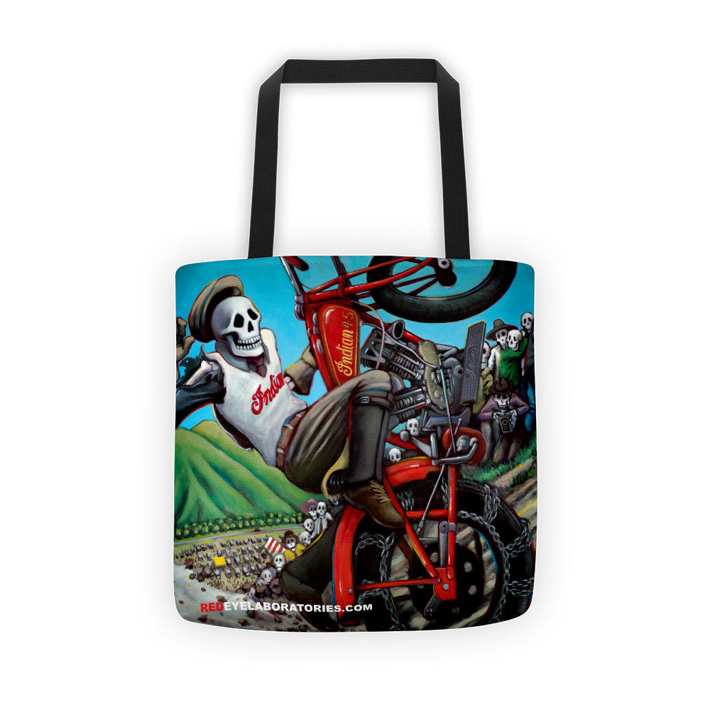 Hill Climber Tote bag Tote bag - Redeye Laboratories