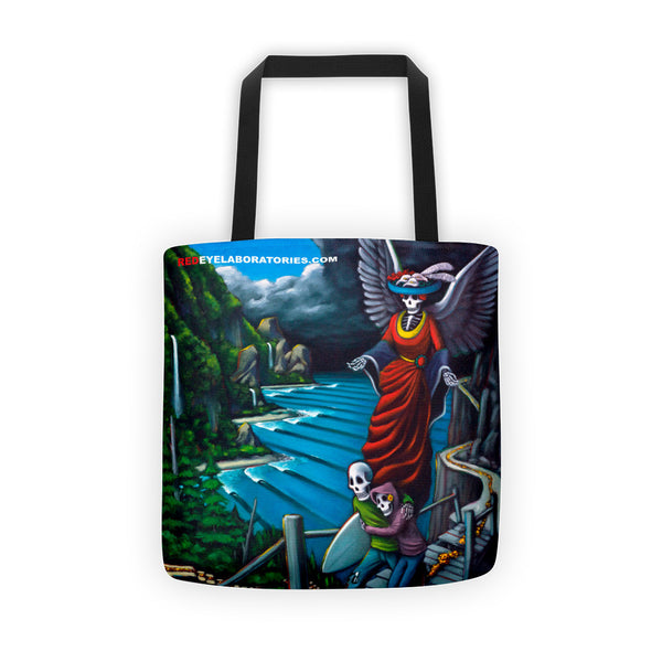 The Path Tote bag Tote bag - Redeye Laboratories