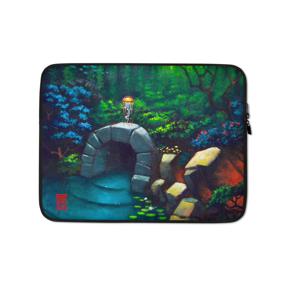 """Between Two Worlds"" Laptop Sleeve  - Redeye Laboratories"