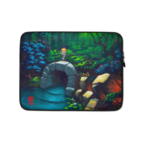 """Between Two Worlds"" Laptop Sleeve - 15 in"