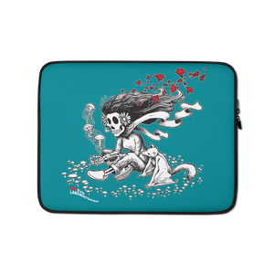 """Cosmic Girl"" (Teal) Laptop Sleeve  - Redeye Laboratories"