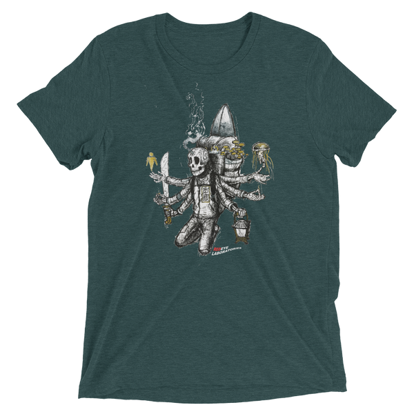 Cosmic Traveler (multi-arms) Short sleeve t-shirt T-shirts - Redeye Laboratories
