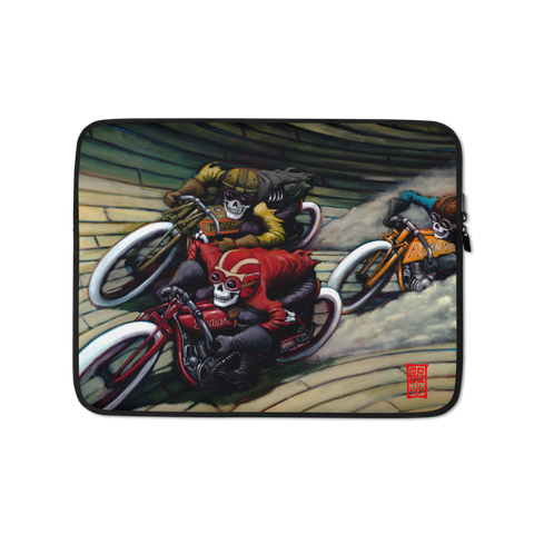 """Bones on Boards"" Laptop Sleeve - 15 in"