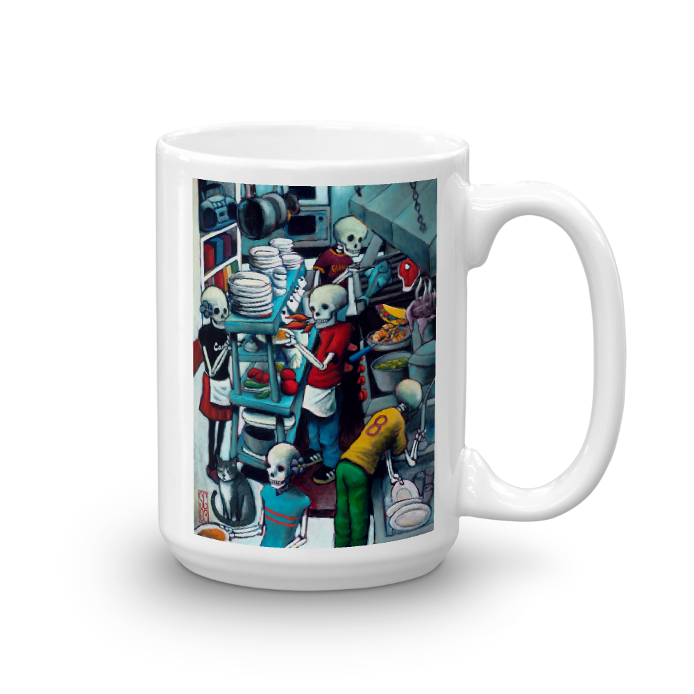 Kitchen Crew Mug  - Redeye Laboratories