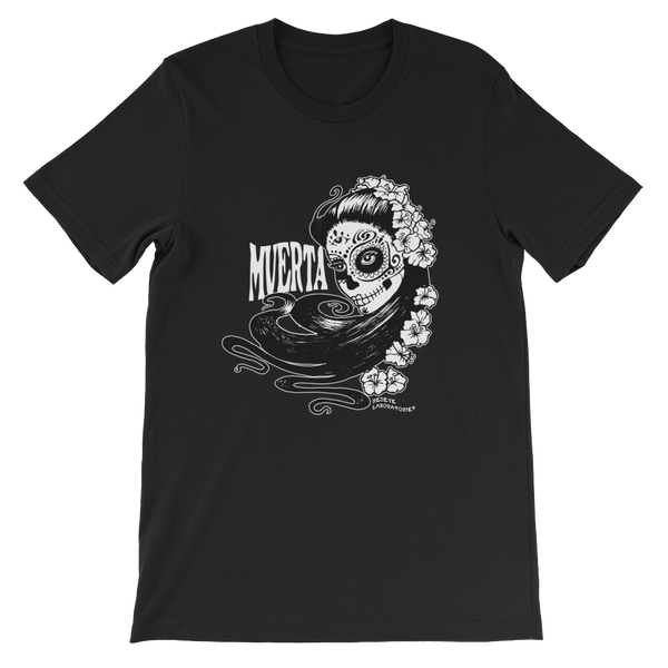 Muerta Girl short sleeve t-shirt T-shirts - Redeye Laboratories
