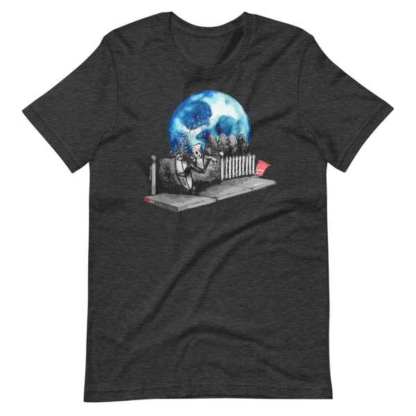 """Hedge Shred"" (Sketchy Moon) Short-Sleeve Unisex T-Shirt"
