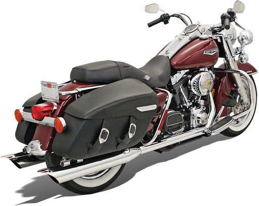 BASSANI TRUE DUAL CROSSOVER HEADPIPES 95-08 BAGGER