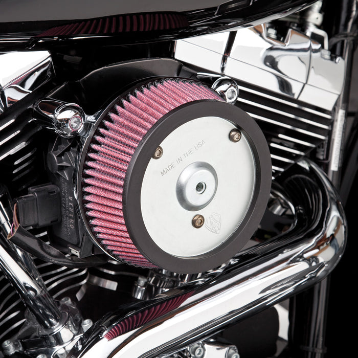 BIG SUCKER STAGE I AIR CLEANERS: TWIN CAM/EVOLUTION/SPORTSTER