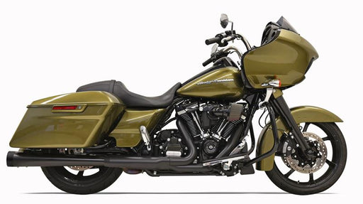 BASSANI DNT STRAIGHT CAN SLIP-ON MUFFLERS BLACK