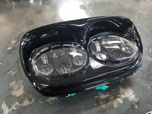 "Night Prowler + 5 3/4 Inch LED Dual ""Motorcycle Headlight"""