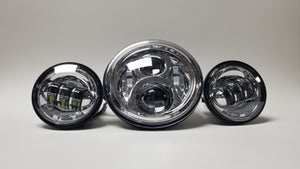 "NIGHT PROWLER 2.0 - 7"" LED HEADLIGHT KIT"