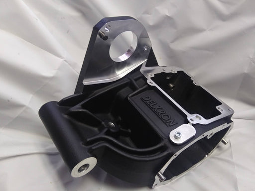 DELKRON TRANSMISSION CASE FOR FXR D4020-B BLACK