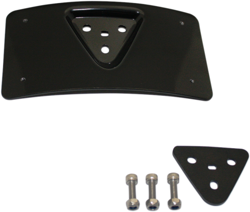 CUSTOM DYNAMICS PLATE FRAME BLACK 2030-0993