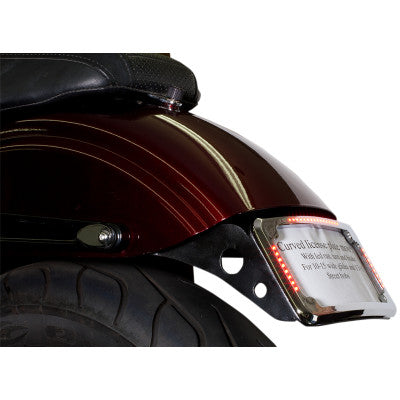 CYCLE VISIONS LICENSE PLATE MOUNT FOR SHORT FENDERS