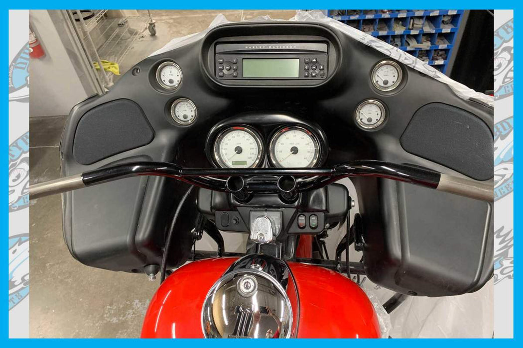 DIRTY BIRD CUSTOM'S GUAGE BEZEL ADAPTER COVER FOR T-BARS 13' AND OLDER ROADGLIDE MODELS