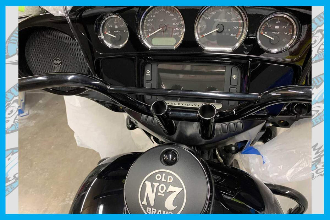 DIRTY BIRD CUSTOM'S GUAGE BEZEL ADAPTER COVER FOR T-BARS 00'-20' STREET GLIDE MODELS