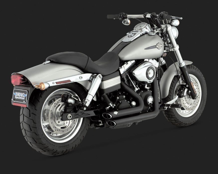 VANCE AND HINES SHORTSHOTS STAGGERED BLACK