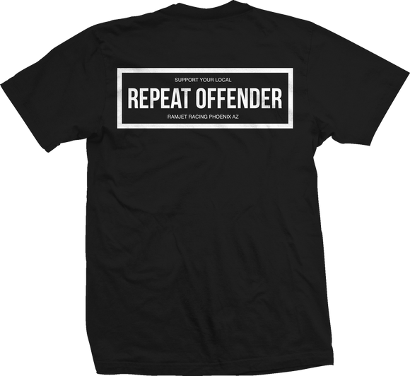 Ramjet Racing Offender Black T-Shirt