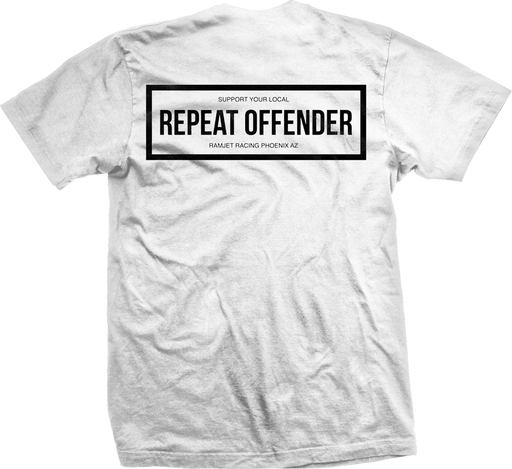 Ramjet Racing Offender White T-Shirt