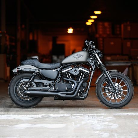S&S SUPERSTREET 2:1 EXHAUST SYSTEM FOR 07-13 SPORTSTER MODELS