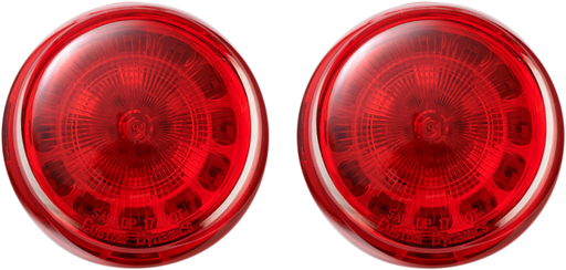 CUSTOM DYNAMICS RED TURN SIGNAL INSERTS