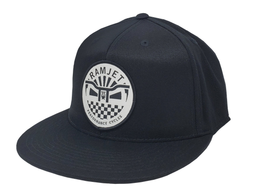 RAMJET RACING BMX FITTED HAT BLACK