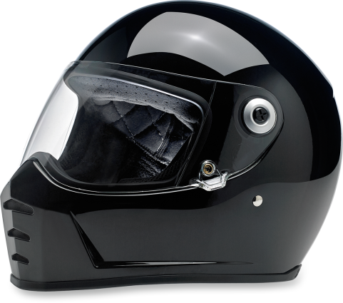 BILTWELL LANE SPLITTER HELMET - GLOSS BLACK