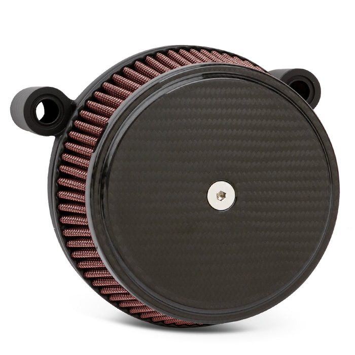 BIG SUCKER STAGE I AIR FILTER KITS WITH COVER FOR TWIN CAM AND XL