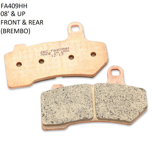 EBC HH SINTERED BRAKE PADS - BAGGER