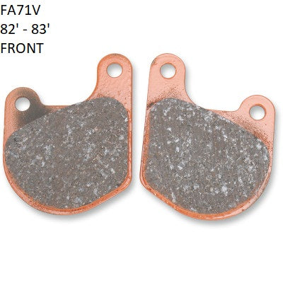 EBC HH SINTERED BRAKE PADS - FXR
