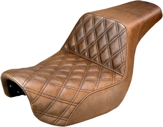 SADDLEMEN SEAT DIAMOND STITCH
