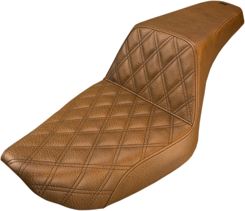SADDLEMEN STEP UP SEAT BROWN