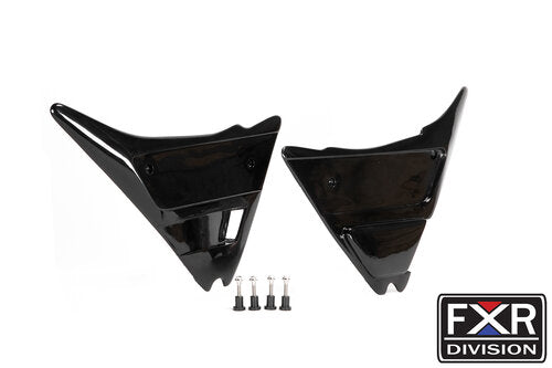 "FXR DIVISION ""ST"" FXR SIDE COVERS W/ HARDWARE- SCALLOPED"