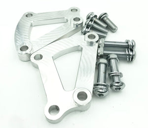 Ramjet Racing + Caliper Adapter Brackets for HD Touring BREMBOS