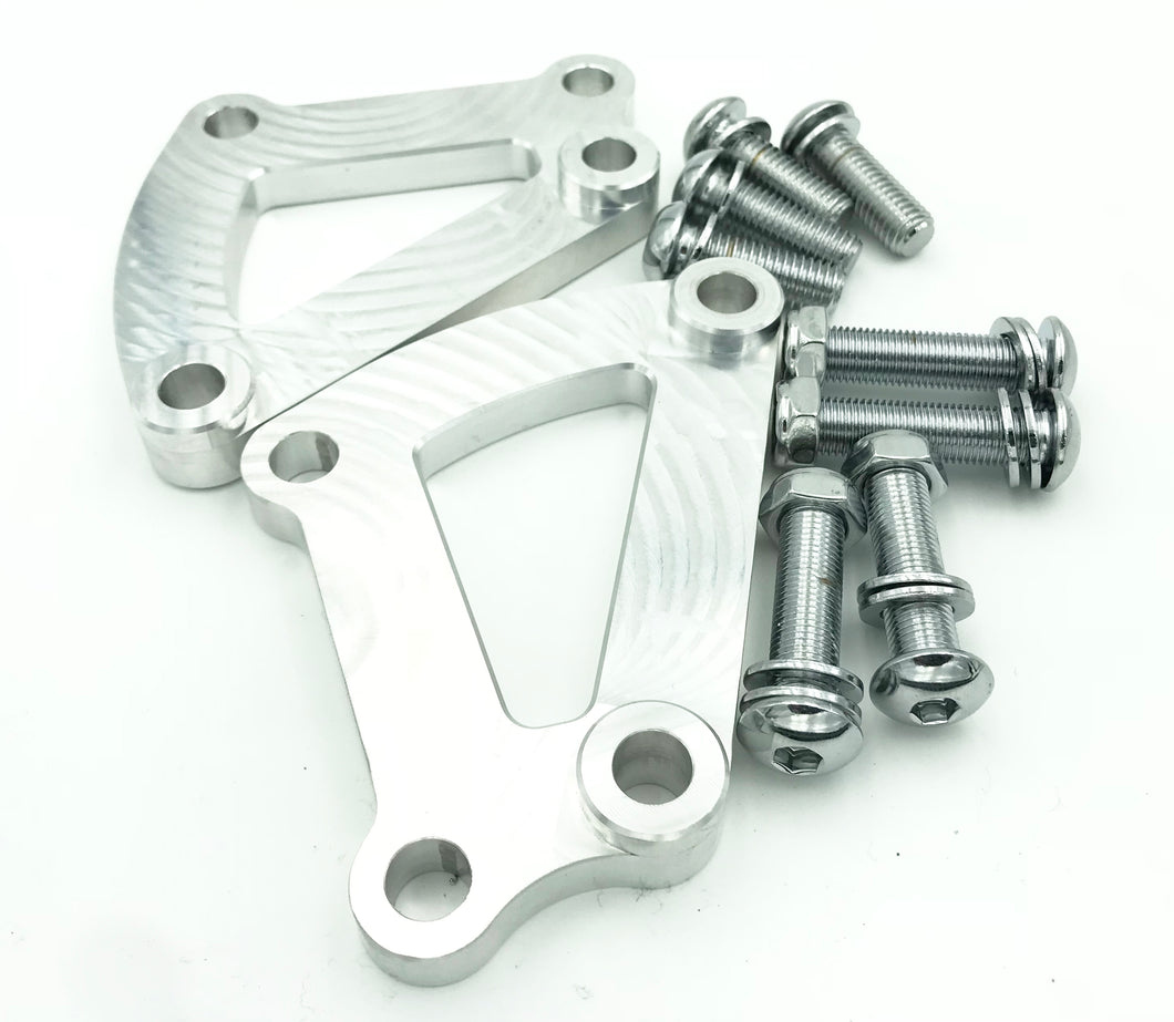 CALIPER ADAPTER BRACKETS FOR HD TOURING BREMBOS