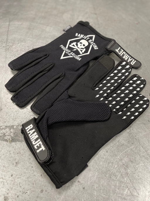 RAMJET MOTO GLOVES (BLACK)