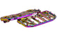 FLO V5 MX BAGGER FLOORBOARDS