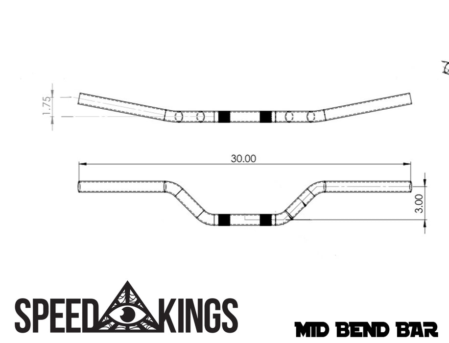 SPEED-KINGS MID BEND BAR