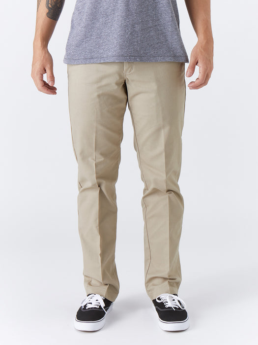 Dickies '67 Slim Fit Stretch Straight Leg Work Pants - Desert Sand