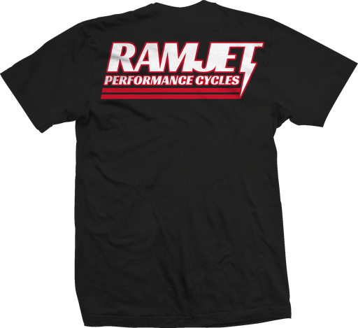 RAMJET RACING RED BOLT SHORT SLEEVE TEE (MORE COLORS)