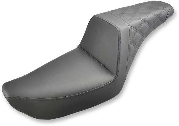 SADDLEMEN STEP UP SEAT DIAMOND STITCH