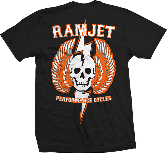 Ramjet Racing Striker Black/Orange T-Shirts
